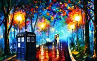 Wholesale leonid afremov Landscape nature Art HOME WALL Decor Prints Realistic Oil Painting Printed On Canvas