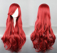 anime products - 88CM Long Anime Cosplay Wigs Cheap Modest Fashion New Arrive Cos Hair Products Wig Halloween Party Wig Elegant Sexy In Stock Sexy