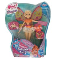 believix toys - New Original Fashion Winx Club Believix Fairy Stella Figure Dolls For Girls Dolls Kids Toys For Children Christmas Gifts