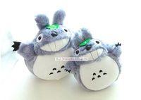 Venta caliente 20 cm 45cm / 55cm / 75cm famosos dibujos animados Totoro Peluches sonrientes suave peluche juguetes de alta calidad Muñecas MYF20