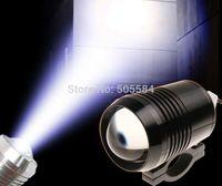 al por mayor motocicleta led parpadeante luz estroboscópica-12v / 24v / 36v / 48v / 60v CREE u2 30W llevó la motocicleta que conduce la luz de destello