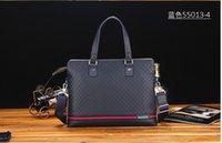 Wholesale 2016 new men s bags one shoulder business bag Cow leather Designer bag men s handbag briefcase leather