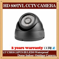 Wholesale CIA Plastic House Color CMOS Mini Camera HD Camera TVL Dome Camera IR LED Day Night Indoor Security Camera CCTV