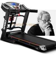 home gym equipment - Promotion home multifunctional electric treadmills fitness folding motorized gym equipment running machine free ship worldwide