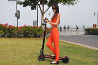 Wholesale 2 wheels folding mini electric bicycle foldable hoverboard scooter with high capacity batttery and w motor power bike