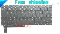 Wholesale 95 NEW FOR MacBook Pro quot A1286 Unibody UK Keyboard Black
