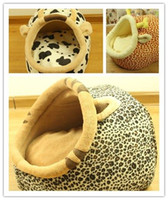 Wholesale Kennel puppy dog house bed unpick and wash pet nest cats litter teddy goods quality products thermal yurt