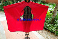 Wholesale Hot Sale Good New Visible Barber Salon Waterproof Window Apron Haircutting stylist Cape Shampoo hair cut