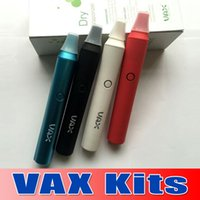 Wholesale Vax kits Dry Herb Vaporizer Ego kit Vapor Pen PEX Vaporizer Eelectronic Cigarette Pen Ago G5 VAX Black White Purple Blue colors waitingyou