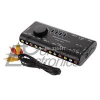 audio signal splitter - 1Set in AV Audio Video Signal Switcher Splitter Selector