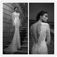 Cheap Trumpet/Mermaid mermaid wedding dresses Best Reference Images Jewel White wedding dress