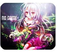 Wholesale Hot selling No Game anime mousepad Rectangle Gaming Non Slip Rubber Mouse pad