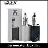 Date Cigarette Terminator Mod Starter Kit Mech Mod pack électronique Kit 18650 Batterie Box Mod VS AnglesDemons Anubis Mod