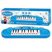 Wholesale Free P P low Price HOT Movie Frozen ANN Electronic Organ Piano Keyboard Toy Boxed Ideal Xmas Gift