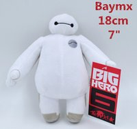 Wholesale Big Baymax Hero Plush Doll Toy cm inch Stuffed Plush Gift Valentine Day Gift