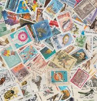 Cheap 100 PCS different Postage Stamps Many countries All over the world collection wholesale
