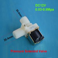 air flow switches - Electric Solenoid Valve Magnetic Screw thread Vertical flow Water Air Inlet DC V Flow Switch quot