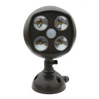 battery outdoor spotlight - DHL shipping LED Motion Sensor Spotlights Ultra Bright Wireless Sensor Lights indoor outdoor lights Sensor Lamps waitingyou