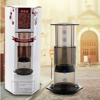 Wholesale F Aeropress coffee maker boeng good music to a portable pressure coffee pot method pressure pot