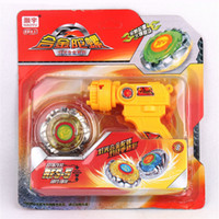 beyblade types - S metal fusion spinning top toy gyro Gun type emitter beyblade launchers peg top with box Boys birthday gift