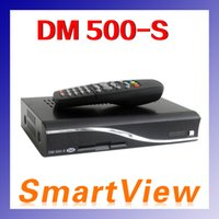 Cheap 2pcs set top box dm 500S 500-S DVB-S digital satellite receiver europe FEDEX DHL free shipping