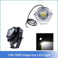 silver eagle - 1 pair W CREE U2 LM LED Car Fog Daytime Running light lamp Eagle Eye LED light black silver optional