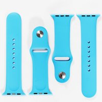 band connector - 1 Original Design Silicone Band With Connector Adapter Clip For Apple Watch Silicon Strap For iPhone iWatch Sport Buckle Bracelet Free DHL