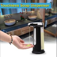 Wholesale iRulu NEW arrival ML Automatic Touchless IR Sensor Liquid Soap Dispenser for Kitchen Bathroom Home Hotel