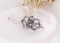 Wholesale 2015 Fashion hair jewelry pearl hairpins card issuing side clip headdress jewelry bridal jewelry grade alloy tiara wedding hair accessories