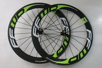 Wholesale FFWD FAST FORWARD R c mm carbon cycling clincher tubular wheelset hub glossy matte finishing quick release