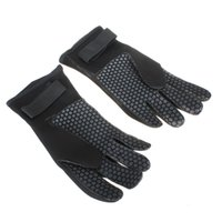Wholesale 1 Pair mm Neoprene Scuba Diving Snorkeling Surfing Spearfishing Water Sport Warm Glove Black Size S M L