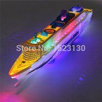 Wholesale OCEAN LINER CRUISE SHIP BOAT ELECTRIC TOY FLASHING LED LIGHTS SOUNDS KIDS CHILD