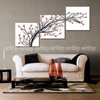 artistic wall panels - Artistic Modern Wall Decorative Canvas High Quality Oil Painting Canvas Trees Roller Blinds Wall Decor Paintings Modern O
