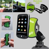 Wholesale Latest GripGo TV Car rack loader long section of car phone holder fit all the Mobile phone black color