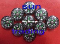 Wholesale DHL mm x mm Gram Mini Acrylic Button Camping Compass Outdoor Survival Kit