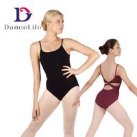 Women best leotard - Best Seller Adult twist back ballet leotard dancewear camisole ballet leotard dance leotards A2062