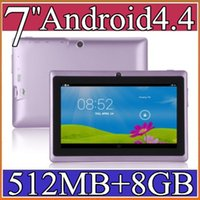 Android 4.4 epad - 7 inch GB MB Capacitive Allwinner A33 Quad Core Android dual camera Tablet PC WiFi EPAD Youtube Facebook PB
