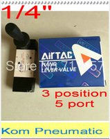 Wholesale 10pcs Fedex quot Airtac way position Pneumatic Air Hand Lever Control Manual Valve H230