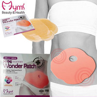 Wholesale MYMI Wonder Slim Patch Belly Slimming Products to Lose Weight and Burn Fat Abdomen Slimming Creams Model Favorite