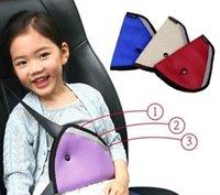 Wholesale New Secure Car Seat Belt Cover Adjust Safe Device Baby Child Safety Belt Cushion Belt Protector Thickening Positioner