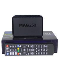 Wholesale pc High Quality Mag250 Linux System IPTV Set Top Box Processor STi7105 RAM Mb MAG iptv box