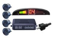 Wholesale 3 COLOR Car Parking Assistance Sensor LED Distance Display Rear Roof Mounting Sensors Radar Kit System