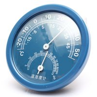 Wholesale Wholedale Blue Hygrometer and Thermometer For Household cm DIY Garden Tools High Quality Plastic in Home