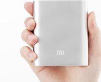 Wholesale Xiaomi Power bank mah External battery portable charger for Mi4 Mi3 M2 M2A M2S M3 mobile phone