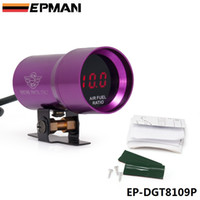 air fuel engine - EPMAN mm COMPACT MICRO DIGITAL SMOKED AIR FUEL RATIO GAUGE GAUGE UNIVERSAL CYLINDER ENGINES Purple EP DGT8109P