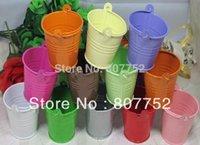 tin buckets pails - wedding candy box bucket tin box tin box Mini Pail Mint Tin Wedding Favors colour mix batch