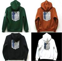 attack on titan hoodie - Attack on Titan Shingeki no Kyojin Scouting Legion Hoodie Cosplay Cloak Hoodies Sweatshirts