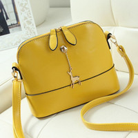 Women bag pony sale - Hot Sale Women Pony Pendant PU Leather Cross Body Ladies Shoulder Bag Small Fashion Handbags Woman Messenger Bags
