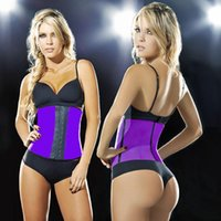 Wholesale great Latex corset body shaper Waist Trainer training corsets Corset Latex Corset Sexy Women Latex Waist Cincher Slimming Shapewear