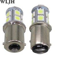 auto tail light bulbs - 12V BA15S P21W SMD LED Reverse Brake Tail Turn Signal Light Bulb Car Lamp Auto Led Bulb light